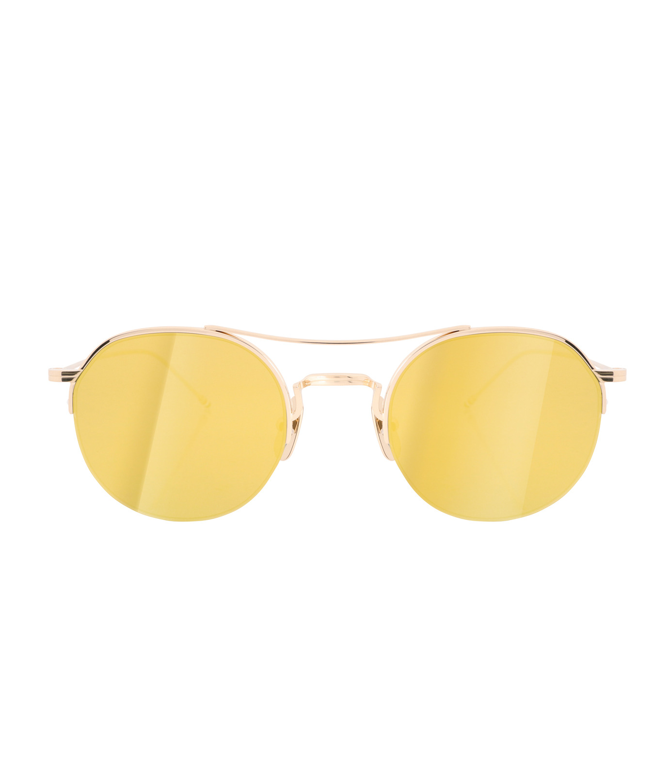 Thom Browne Eye Wear(トム・ブラウン・アイウェア)のTeardrop Gold Lens-GOLD(アイウェア/eyewear)-TB-903-A-T-2 拡大詳細画像3