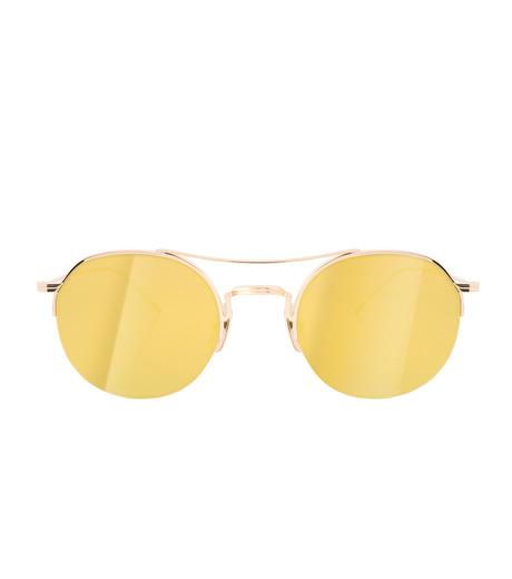 Thom Browne Eye Wear(トム・ブラウン・アイウェア)のTeardrop Gold Lens-GOLD(アイウェア/eyewear)-TB-903-A-T-2 詳細画像3