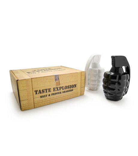Thabto(タブト)のTaste Expl Salt & Pepper Shakers-NONE-TEXBW-0 詳細画像1