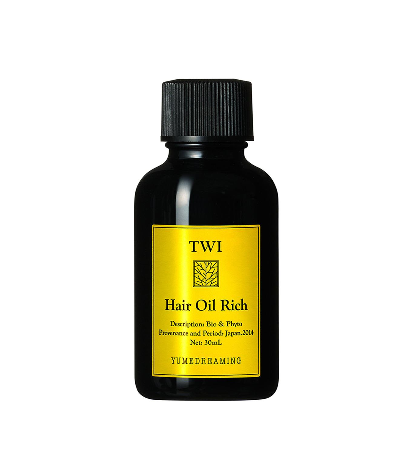 TWI()のTWI HAIR OIL RICH 30ml-BLACK(HAIR-CARE/HAIR-CARE)-THOR-13 拡大詳細画像1