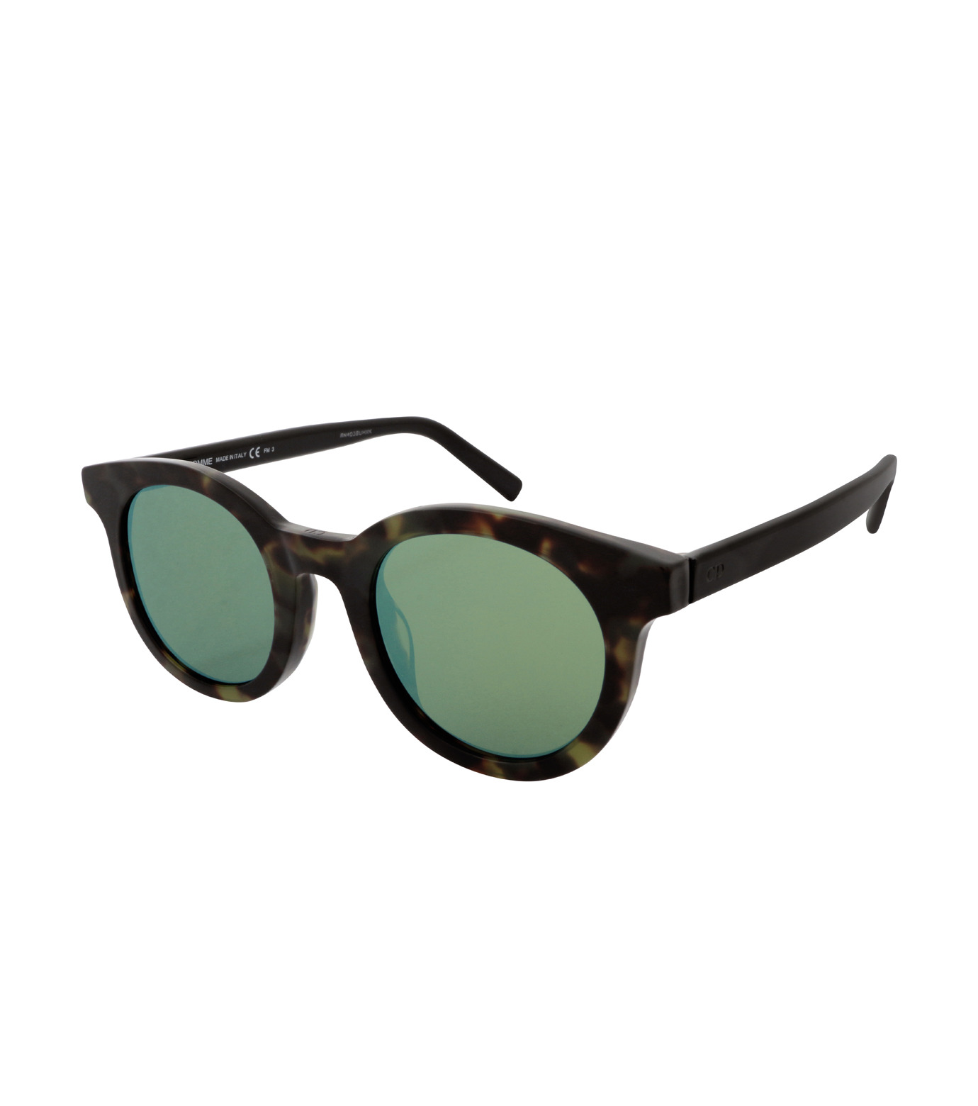 Dior Homme(ディオール オム)のTortoiseshell Frame-GREEN(アイウェア/eyewear)-TIE218FS-22 拡大詳細画像1