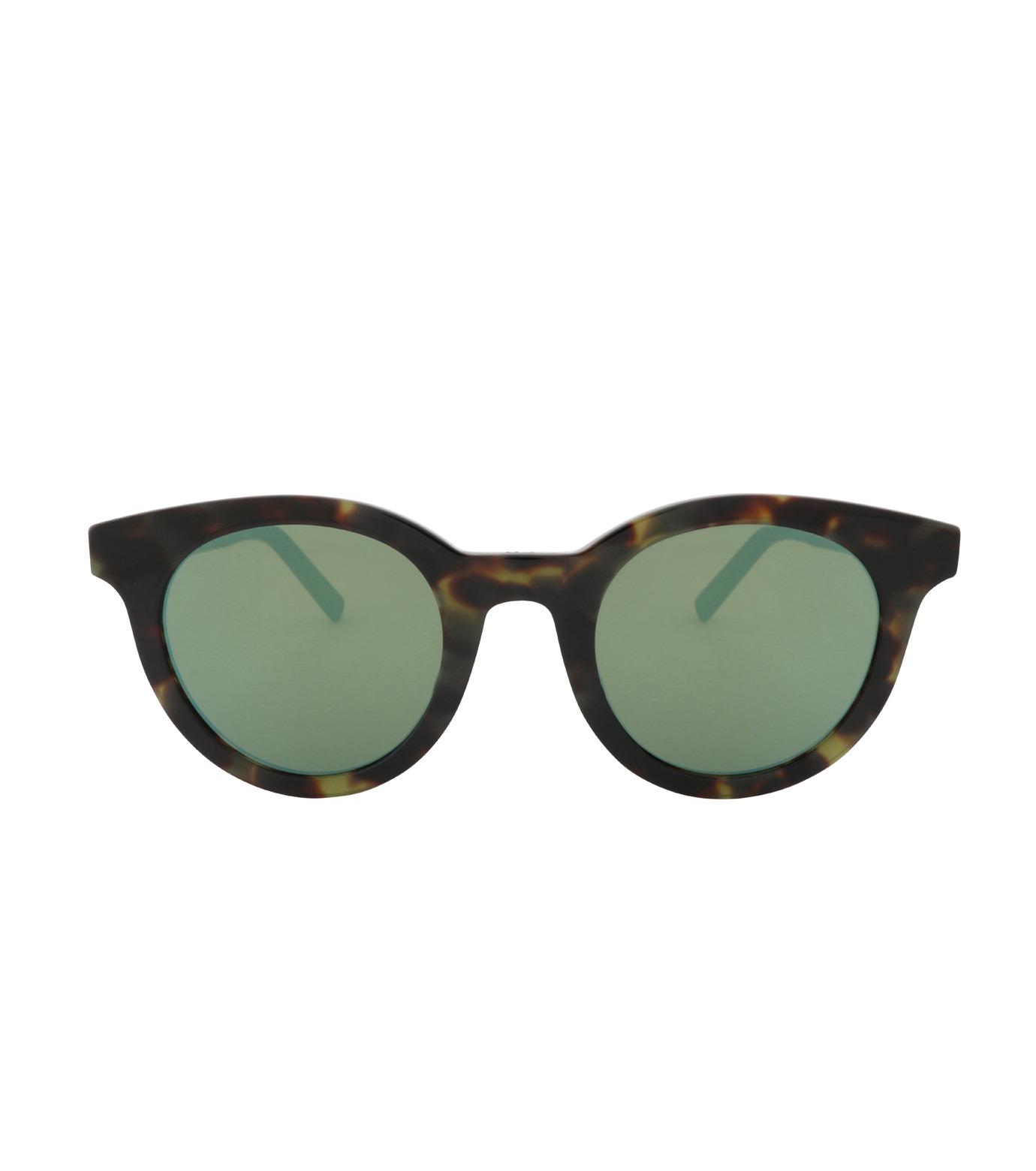 Dior Homme(ディオール オム)のTortoiseshell Frame-GREEN(アイウェア/eyewear)-TIE218FS-22 拡大詳細画像3