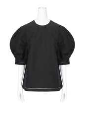 J.W.Anderson Puff Sleeve Top w/Fagot Trim