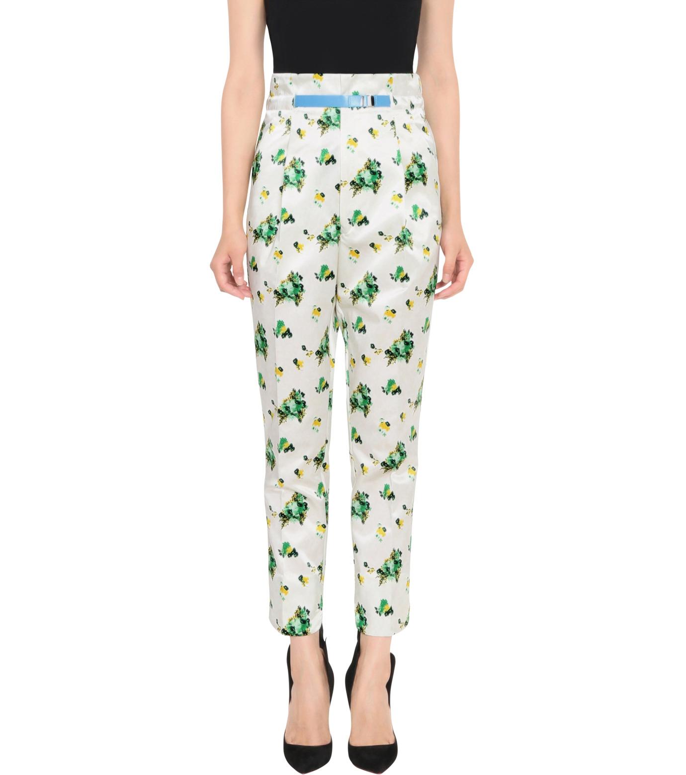 Toga Pulla(トーガ プルラ)のFlower Print Pants-WHITE(パンツ/pants)-TP62-FF230-4 拡大詳細画像1