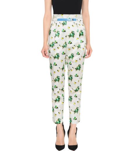 Toga Pulla(トーガ プルラ)のFlower Print Pants-WHITE(パンツ/pants)-TP62-FF230-4 詳細画像1