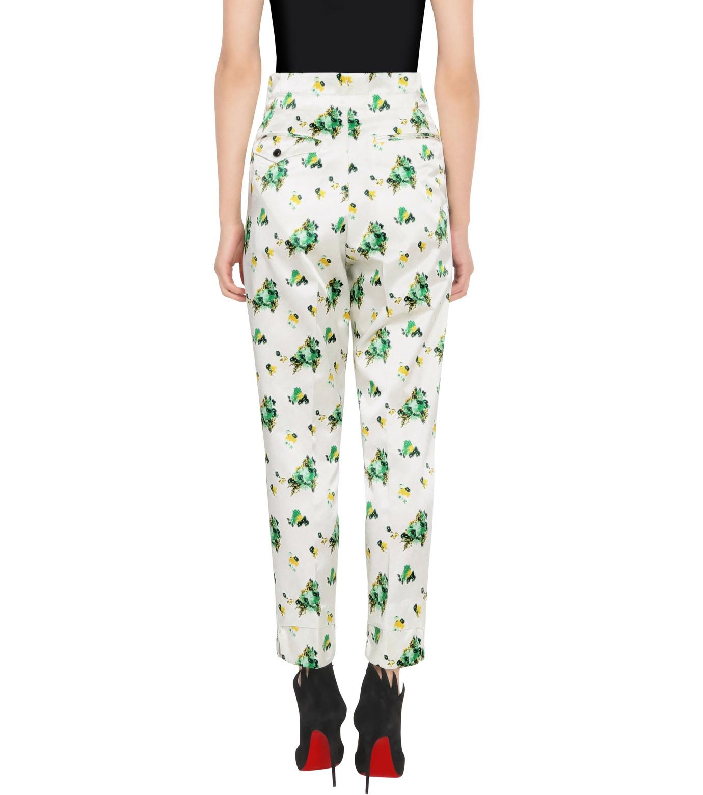 Toga Pulla(トーガ プルラ)のFlower Print Pants-WHITE(パンツ/pants)-TP62-FF230-4 拡大詳細画像2