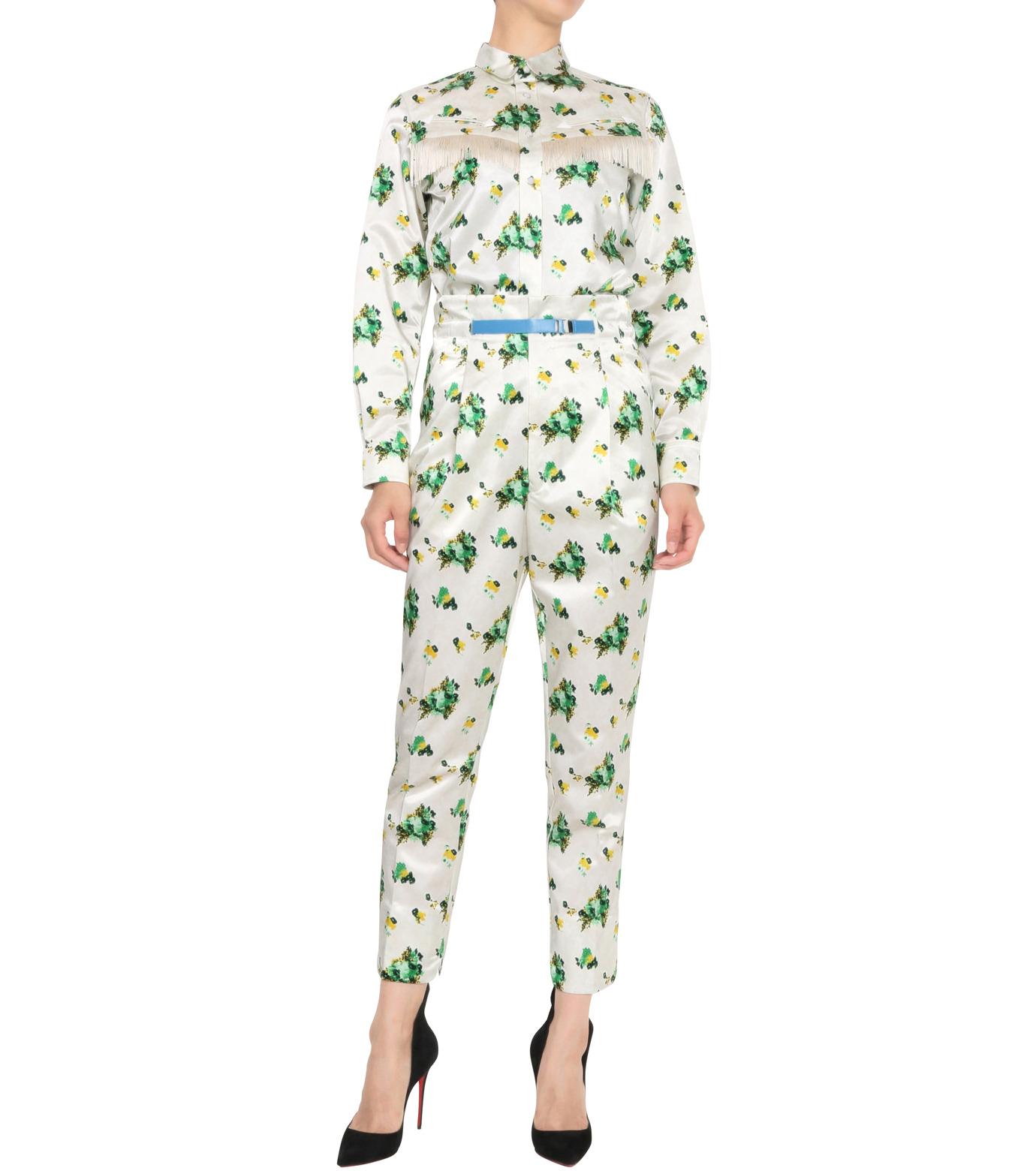 Toga Pulla(トーガ プルラ)のFlower Print Pants-WHITE(パンツ/pants)-TP62-FF230-4 拡大詳細画像3