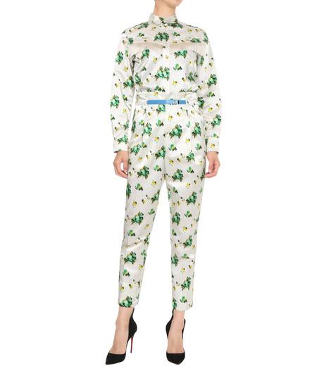 Toga Pulla(トーガ プルラ)のFlower Print Pants-WHITE(パンツ/pants)-TP62-FF230-4 詳細画像3