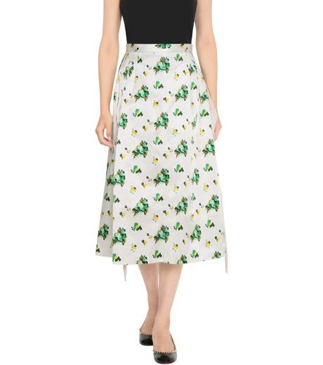 Toga Pulla(トーガ プルラ)のFlower Print Skirt-WHITE(スカート/skirt)-TP62-FG228-4 詳細画像1