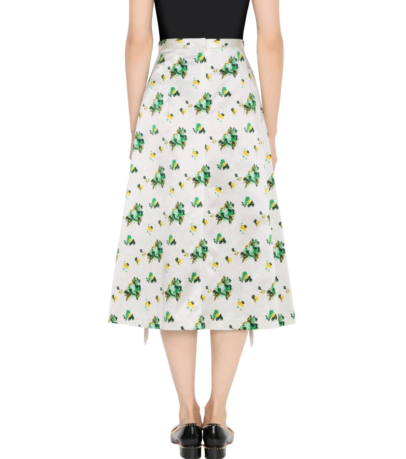 Toga Pulla(トーガ プルラ)のFlower Print Skirt-WHITE(スカート/skirt)-TP62-FG228-4 拡大詳細画像2