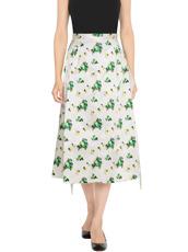 Toga Pulla Flower Print Skirt