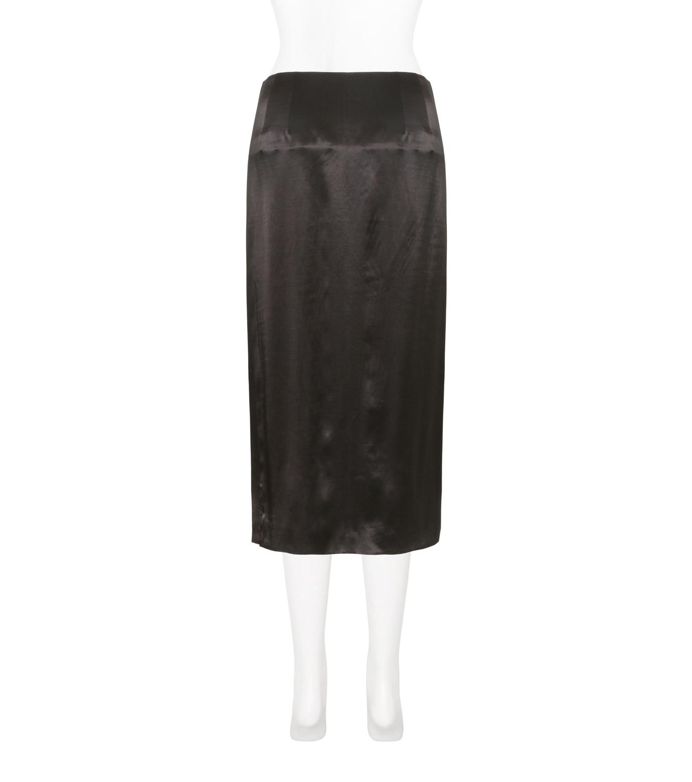 Toga Pulla(トーガ プルラ)のRayon Satin Skirt w/Sequin-BLACK(スカート/skirt)-TP71-FG238-13 拡大詳細画像2