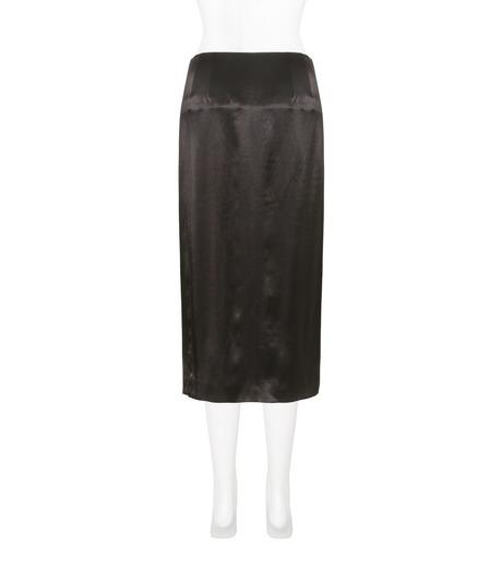 Toga Pulla(トーガ プルラ)のRayon Satin Skirt w/Sequin-BLACK(スカート/skirt)-TP71-FG238-13 詳細画像2