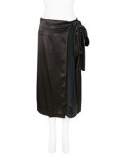 Toga Pulla Rayon Satin Skirt w/Sequin
