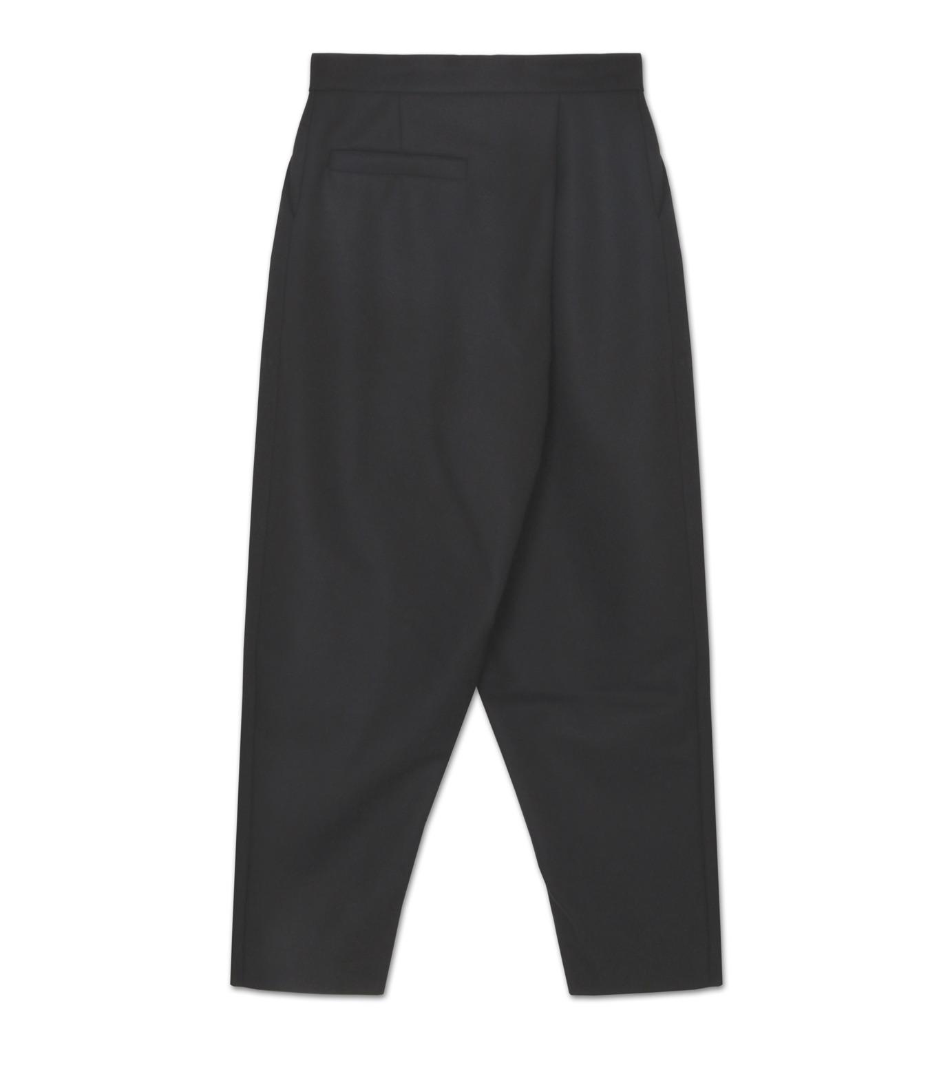 J.W.Anderson(ジェイダブリュー アンダーソン)のPleat Back Trous-BLACK(パンツ/pants)-TR15MA16-13 拡大詳細画像2