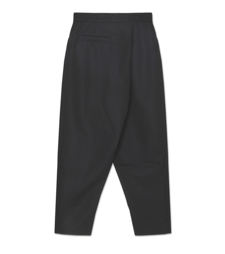 J.W.Anderson(ジェイダブリュー アンダーソン)のPleat Back Trous-BLACK(パンツ/pants)-TR15MA16-13 詳細画像2