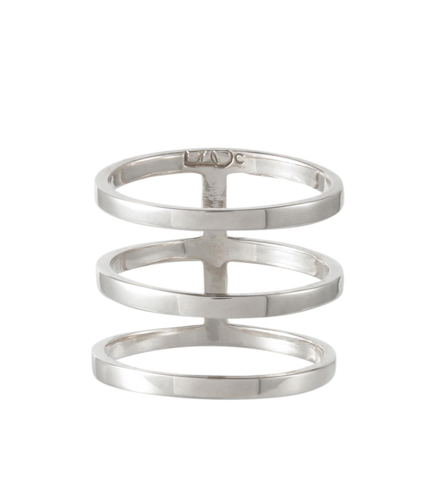 Campbell(キャンベル)のTribar Ring-SILVER(アクセサリー/accessory)-TRIBAR-RING-1 拡大詳細画像1