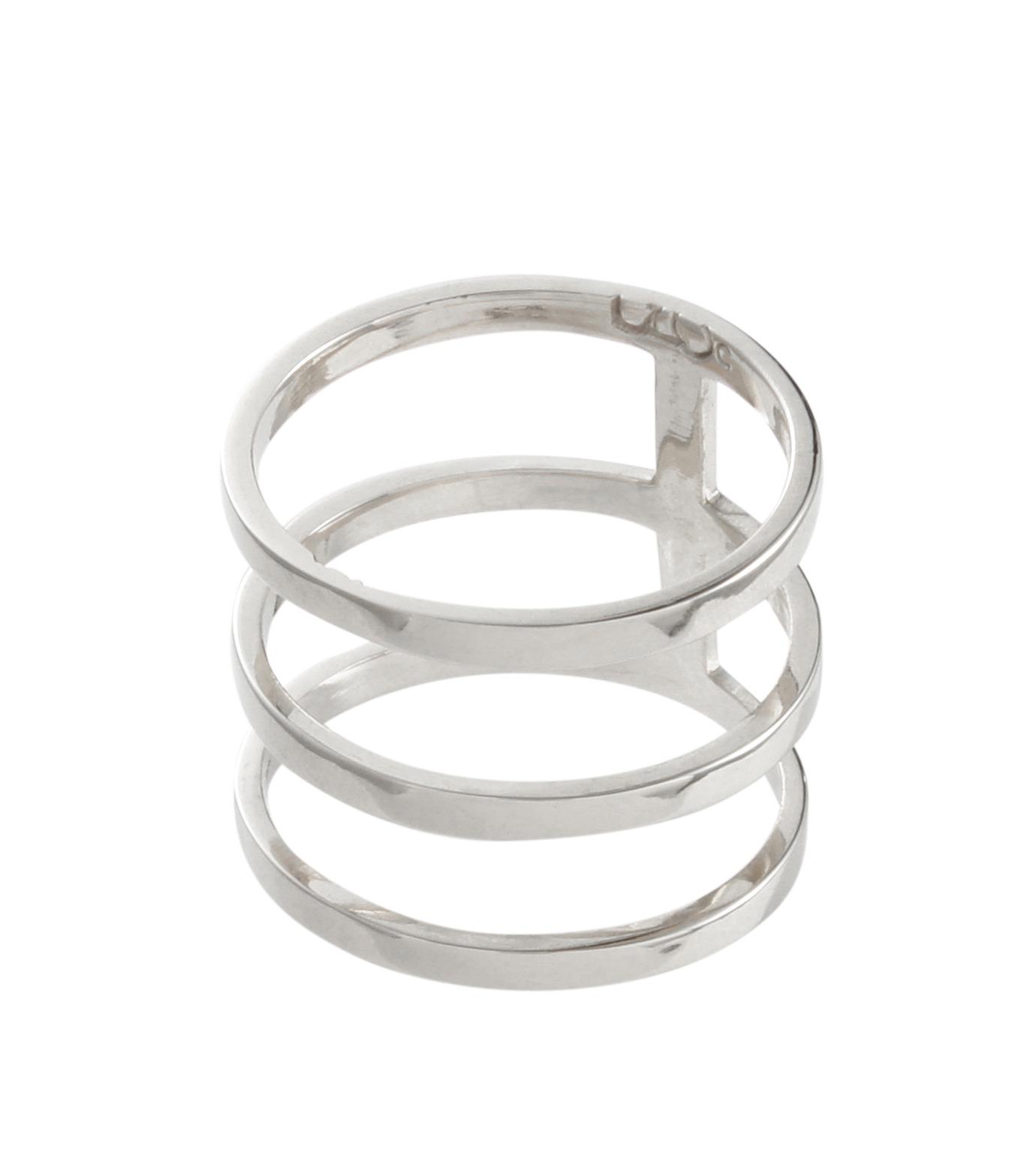 Campbell(キャンベル)のTribar Ring-SILVER(アクセサリー/accessory)-TRIBAR-RING-1 拡大詳細画像2