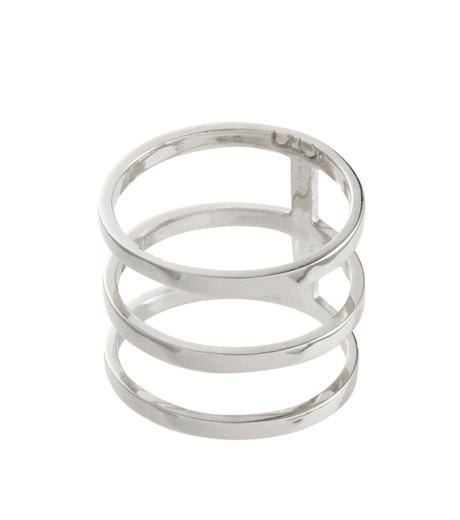 Campbell(キャンベル)のTribar Ring-SILVER(アクセサリー/accessory)-TRIBAR-RING-1 詳細画像2