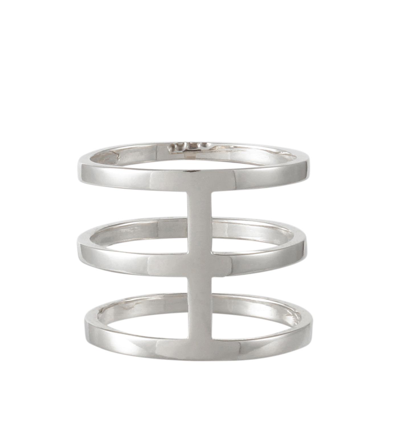 Campbell(キャンベル)のTribar Ring-SILVER(アクセサリー/accessory)-TRIBAR-RING-1 拡大詳細画像3