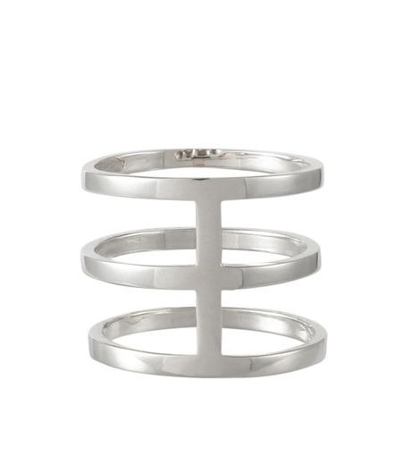 Campbell(キャンベル)のTribar Ring-SILVER(アクセサリー/accessory)-TRIBAR-RING-1 詳細画像3