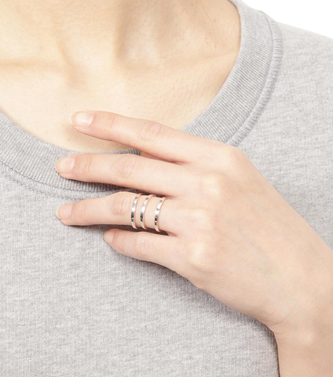 Campbell(キャンベル)のTribar Ring-SILVER(アクセサリー/accessory)-TRIBAR-RING-1 拡大詳細画像4