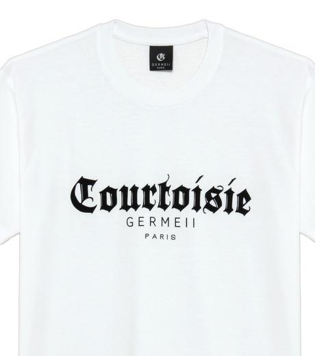 Germeii(ジェルメイ)のCourtoisie Tee-WHITE(トップス/tops)-TS017SS14-4 詳細画像3
