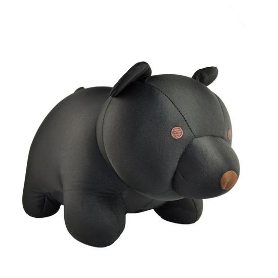 Kikker Land(キッカーランド)のBlack Bear zip& flip travel pillow-BLACK(OTHER-GOODS/OTHER-GOODS)-TT19-BK-13 詳細画像1