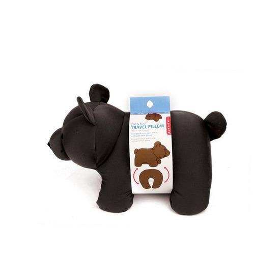 Kikker Land(キッカーランド)のBlack Bear zip& flip travel pillow-BLACK(OTHER-GOODS/OTHER-GOODS)-TT19-BK-13 詳細画像7