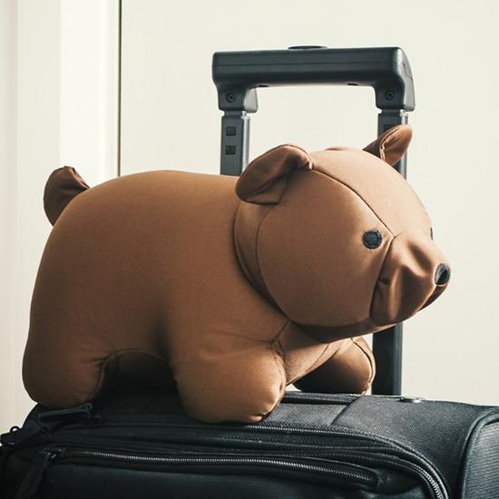 Kikker Land(キッカーランド)のBlack Bear zip& flip travel pillow-BLACK(OTHER-GOODS/OTHER-GOODS)-TT19-BK-13 詳細画像9