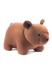 Kikker Land(キッカーランド) Brown Bear zip& flip travel pillow