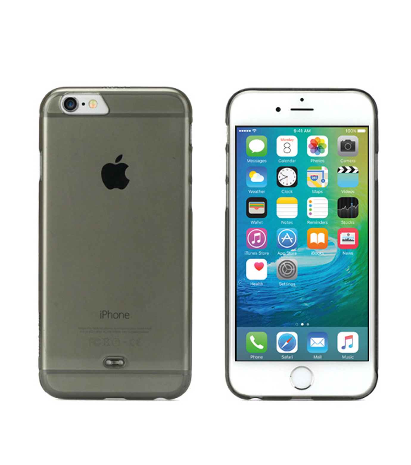 Tunewear(チューンウエア)のeggshell 6/6s-CHARCHOL GRAY(ケースiphone6/6s/case iphone6/6s)-TUN-PH-0394-12 拡大詳細画像1