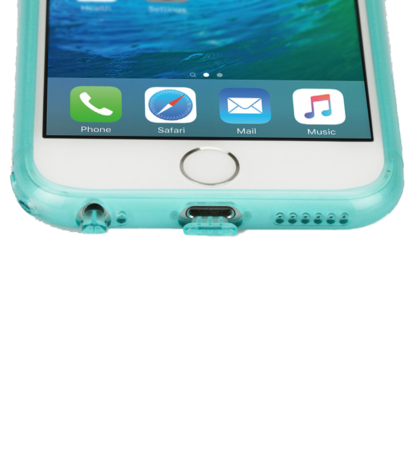 Tunewear(チューンウエア)のsoftshell 6/6s-CHARCHOL GRAY(ケースiphone6/6s/case iphone6/6s)-TUN-PH-0399-12 拡大詳細画像5