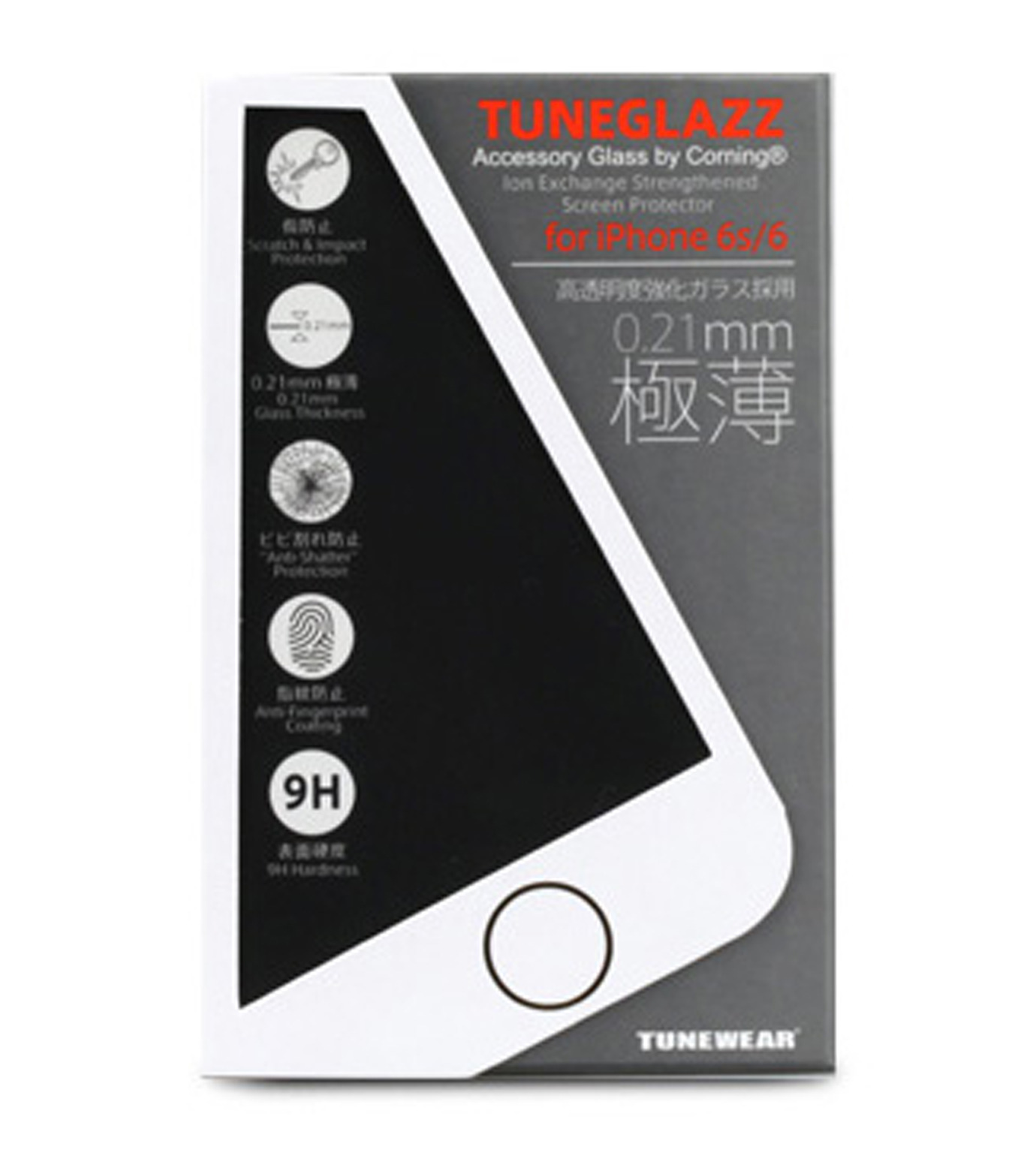 Tunewear(チューンウエア)のTUNEGLAZZ6plus/6splus-NONE(ケースiphone6plus/6splus/case iphone6plus/6splus)-TUN-PH-0441-0 拡大詳細画像2