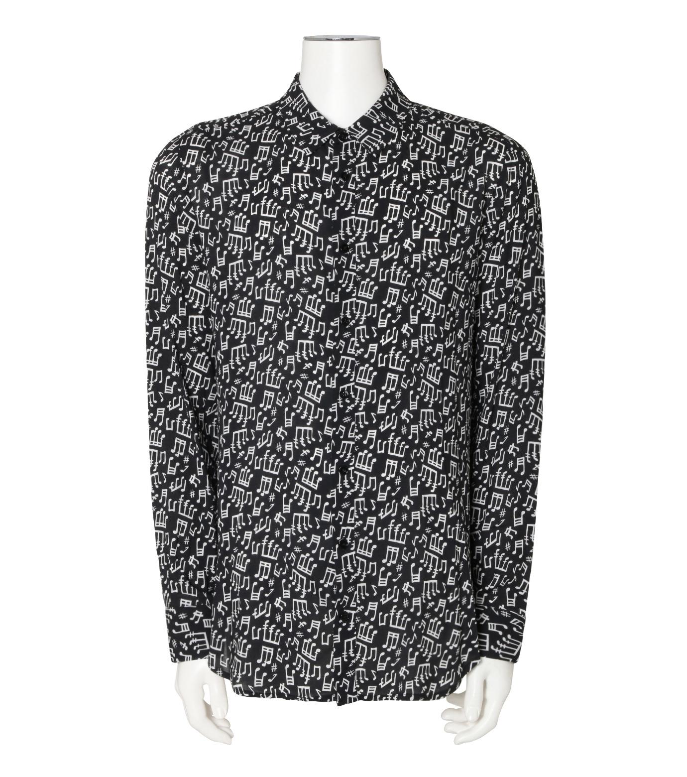 GARCONS INFIDELES(ギャルソン・インフィデレス)のMusic Shirt-BLACK(シャツ/shirt)-TUNES-13 拡大詳細画像1
