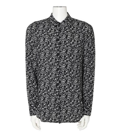 GARCONS INFIDELES(ギャルソン・インフィデレス)のMusic Shirt-BLACK(シャツ/shirt)-TUNES-13 詳細画像1