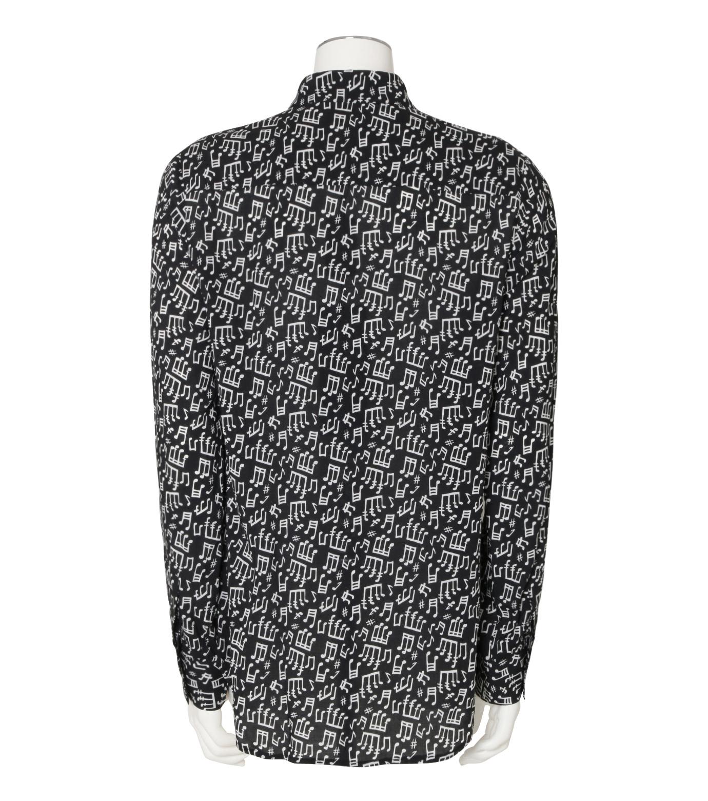 GARCONS INFIDELES(ギャルソン・インフィデレス)のMusic Shirt-BLACK(シャツ/shirt)-TUNES-13 拡大詳細画像2
