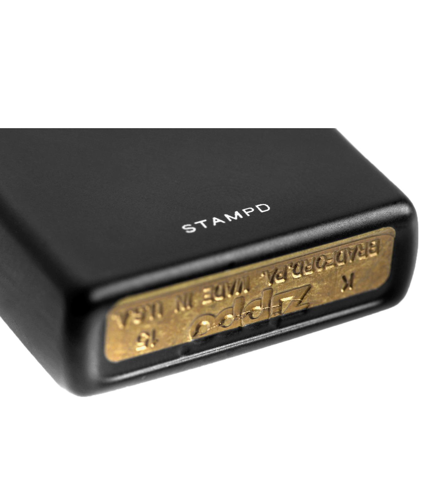 STAMPD(スタンプド)のNO REGRETS/ZIPPO-BLACK(アザーズ/others)-U119SAC-13 拡大詳細画像3