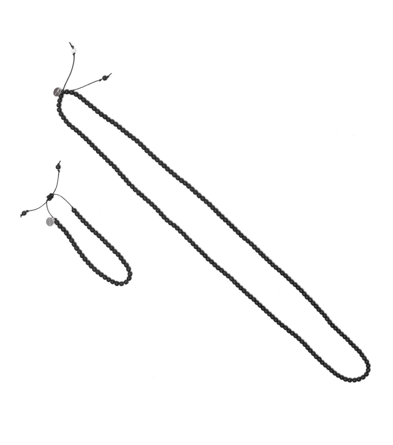 STAMPD(スタンプド)のBracelet & Necklace-BLACK(アクセサリー/accessory)-U1208AC-13 拡大詳細画像1