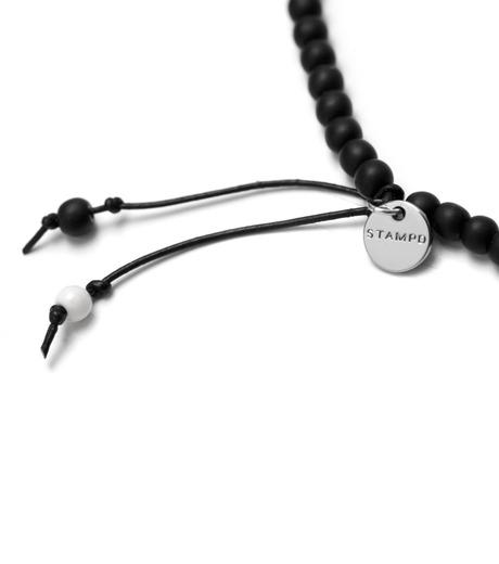 STAMPD(スタンプド)のBracelet & Necklace-BLACK(アクセサリー/accessory)-U1208AC-13 詳細画像2