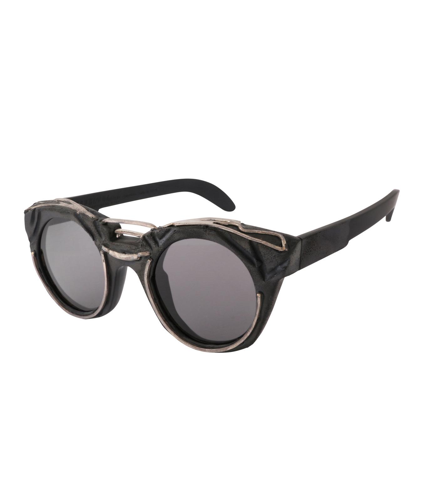 KUBORAUM()のRound Lens-BLACK(アイウェア/eyewear)-U6-BT-RX-13 拡大詳細画像1