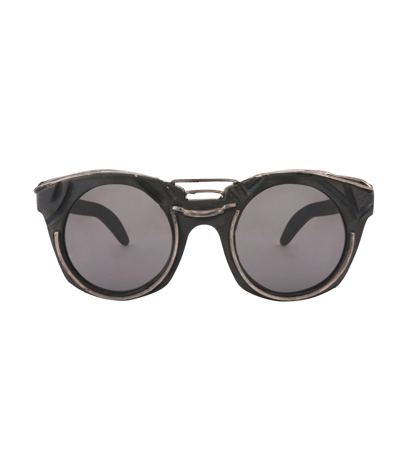 KUBORAUM()のRound Lens-BLACK(アイウェア/eyewear)-U6-BT-RX-13 拡大詳細画像3