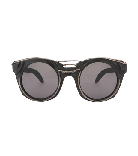 KUBORAUM()のRound Lens-BLACK(アイウェア/eyewear)-U6-BT-RX-13 詳細画像3