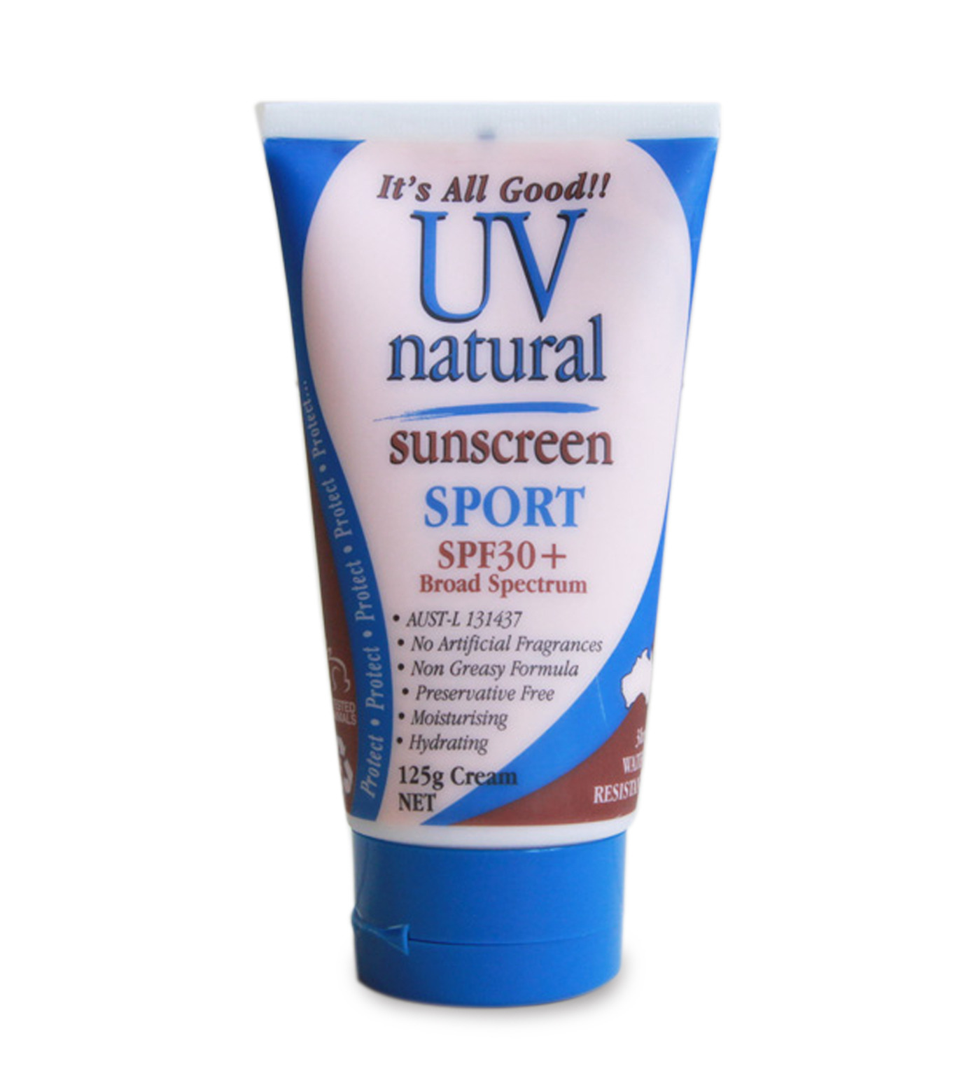 UV Natural(ユーブイ ナチュラル)のUVクリーム-BLUE(BATH-BODY-GROOMING/BATH-BODY/OUTDOOR/BATH-BODY-GROOMING/BATH / BODY/OUTDOOR)-UVN-SPORT-92 拡大詳細画像1