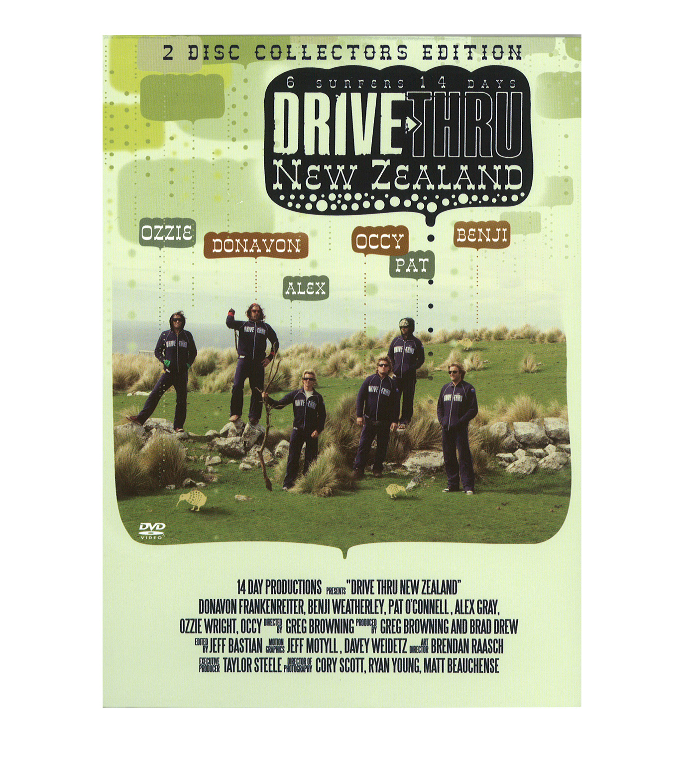 SURF DVD()のDRIVE THRU NEW ZEALAND-MULTI COLOUR-V688D 拡大詳細画像1