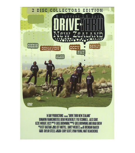 SURF DVD()のDRIVE THRU NEW ZEALAND-MULTI COLOUR-V688D 詳細画像1