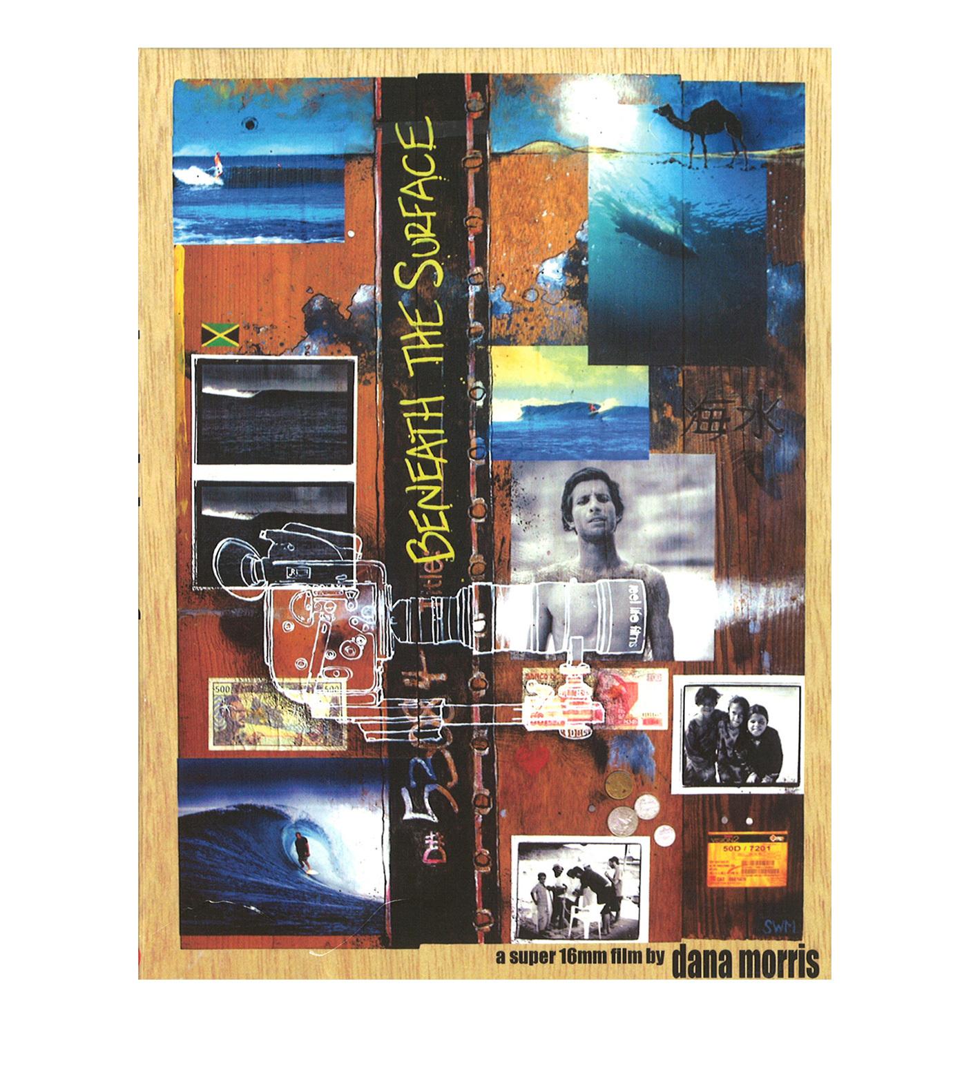 SURF DVD()のBENEATH THE SURFACE-MULTI COLOUR-V694D 拡大詳細画像1