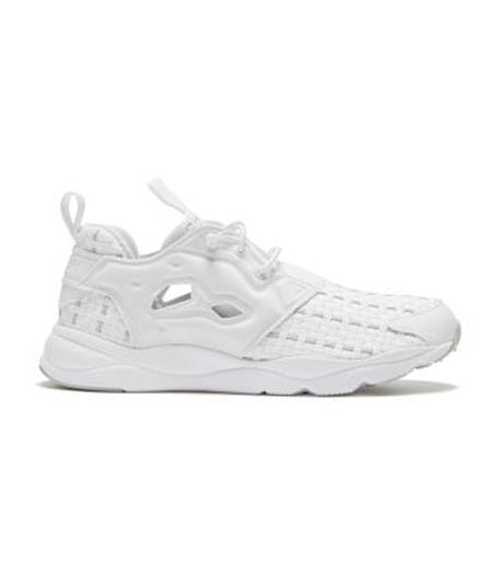 Reebok(リーボック)のFURYLITE NEW WOVEN-WHITE(シューズ/shoes)-V70797-4 詳細画像1