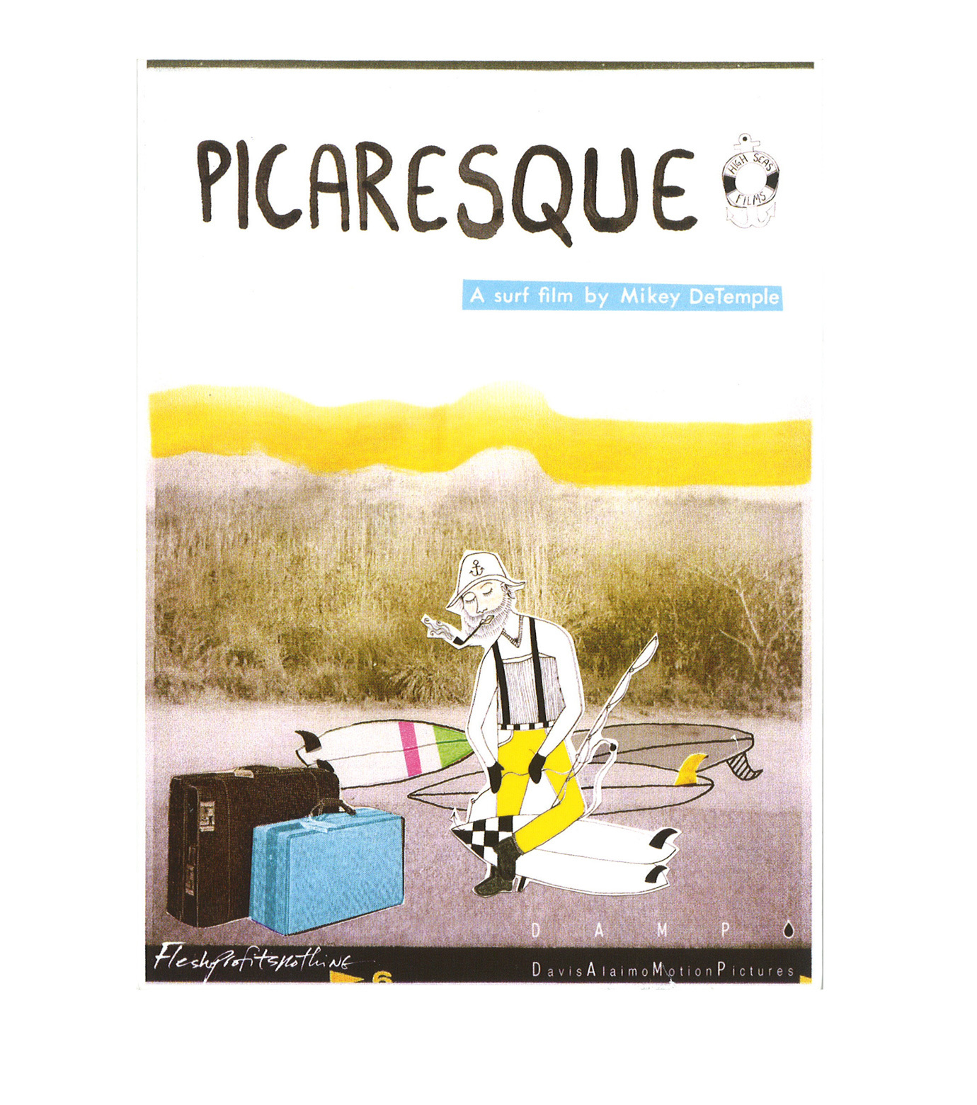 SURF DVD()のPICARESQUE-MULTI COLOUR-V737D 拡大詳細画像1
