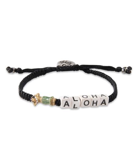 Venessa Arizaga(ヴェネッサ アリザガ)のAloha Bracelet-BLACK(ブレスレット/bracelet)-VA11-2053-13 詳細画像1